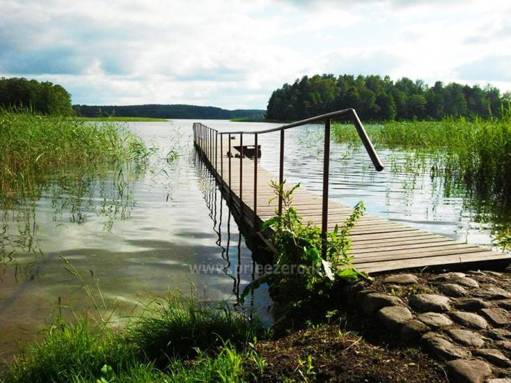 Brīvdienu māja sētā uz ezera krastā Vyšnia - 16