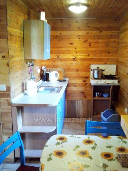 Brīvdienu māja sētā uz ezera krastā Vyšnia - 11