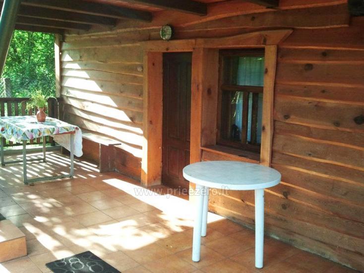 Brīvdienu māja sētā uz ezera krastā Vyšnia - 7