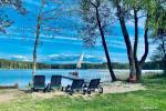 Sētas Molėtai pie ezera Siesartis