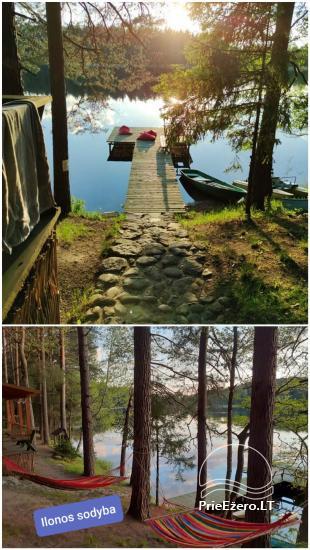Ilona ir sēta ezera krastā - 2
