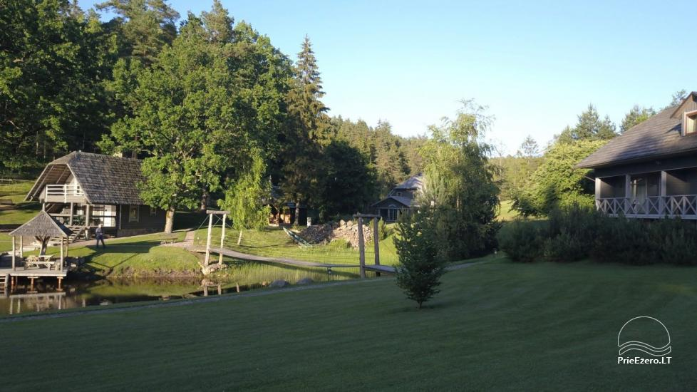 Sēta, kas Plunges rajona, pie ezera Plateliai - 3