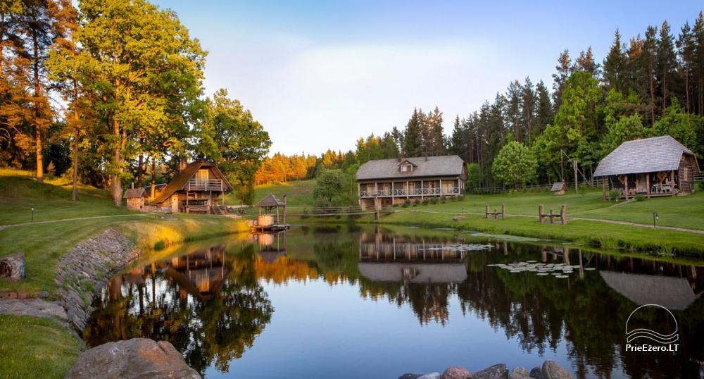 Sēta, kas Plunges rajona, pie ezera Plateliai - 1