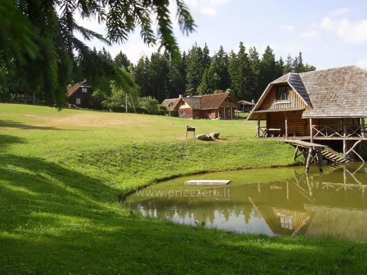 Lauku seta, brivdienu maju ire pie ezera Plateliai - 4