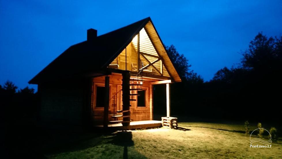 Kajaku un pirts īre uz krasta ezera Ančia - 3