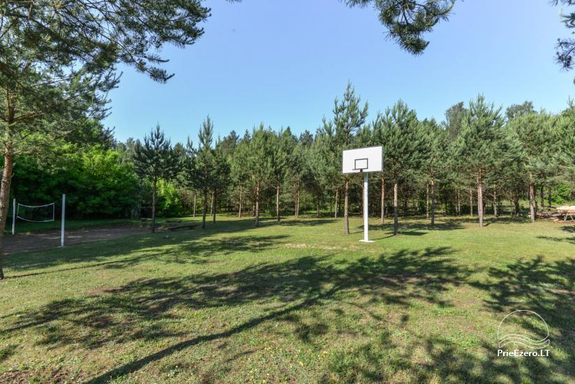 Kajaku un pirts īre uz krasta ezera Ančia - 16