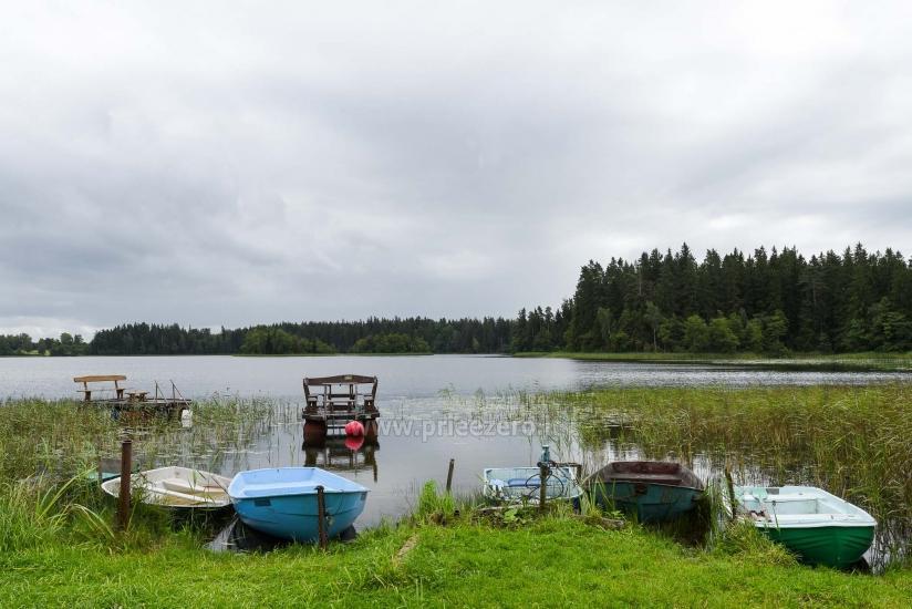 Sēta, kas Plunges rajonā Prie Beržoro ežero - 11