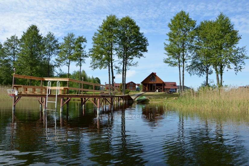 Sēta ar Moletai rajonā pie ezera Poilsis Tau - 1