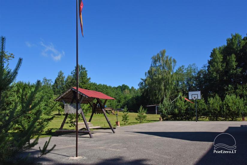Sēta ar Moletai rajonā, pie ezera Lukstas - 13