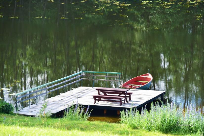 Sēta ar Moletai rajonā, pie ezera Lukstas - 65