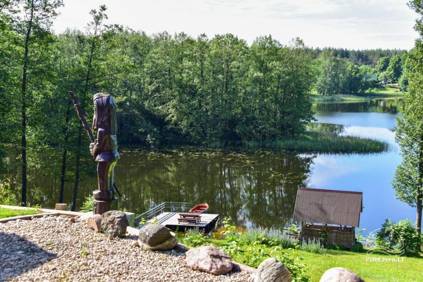 Sēta ar Moletai rajonā, pie ezera Lukstas - 67