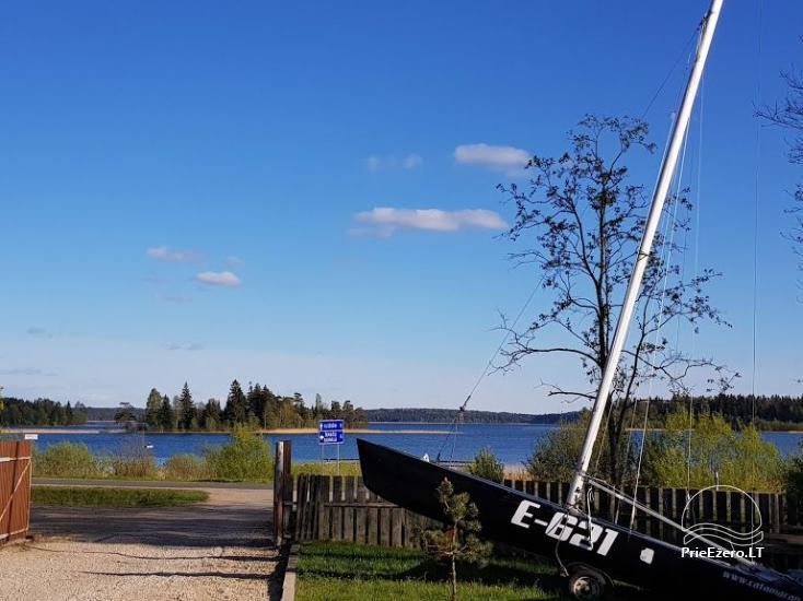 Atpūta Lietuva pie ezera: brivdienu maju ire Paplatele - 14