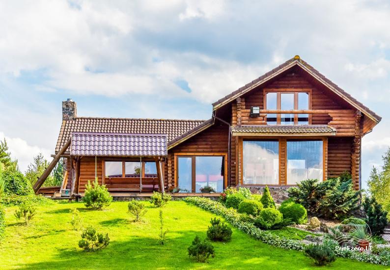 Viensēta pie ezera Malkestas un atpūtas mājas  Srovenos krantas - 1
