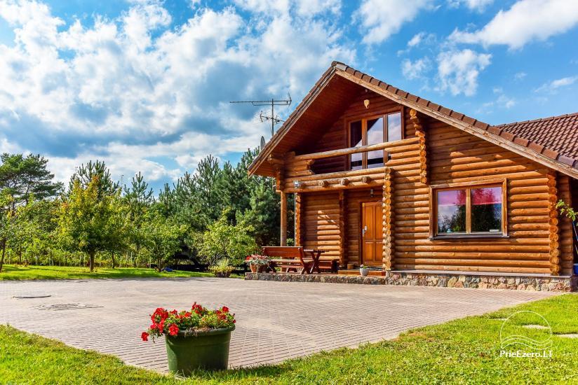 Viensēta pie ezera Malkestas un atpūtas mājas  Srovenos krantas - 4