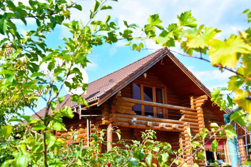 Viensēta pie ezera Malkestas un atpūtas mājas  Srovenos krantas - 6
