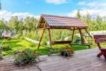 Viensēta pie ezera Malkestas un atpūtas mājas  Srovenos krantas - 10