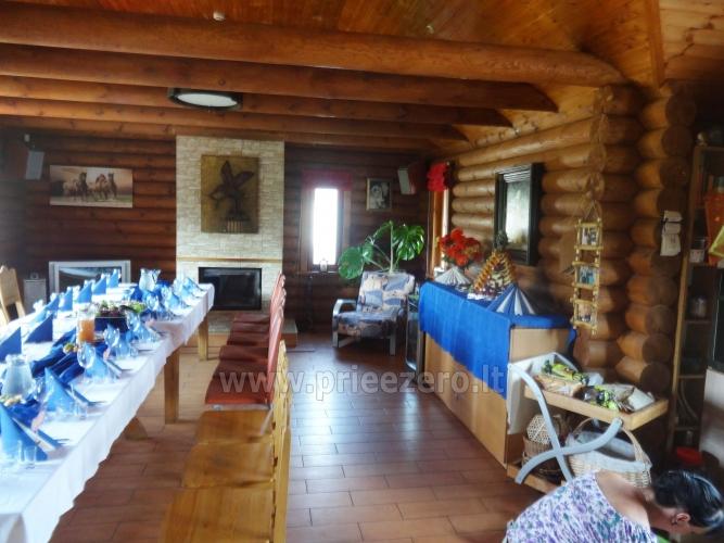 Viensēta pie ezera Malkestas un atpūtas mājas  Srovenos krantas - 18