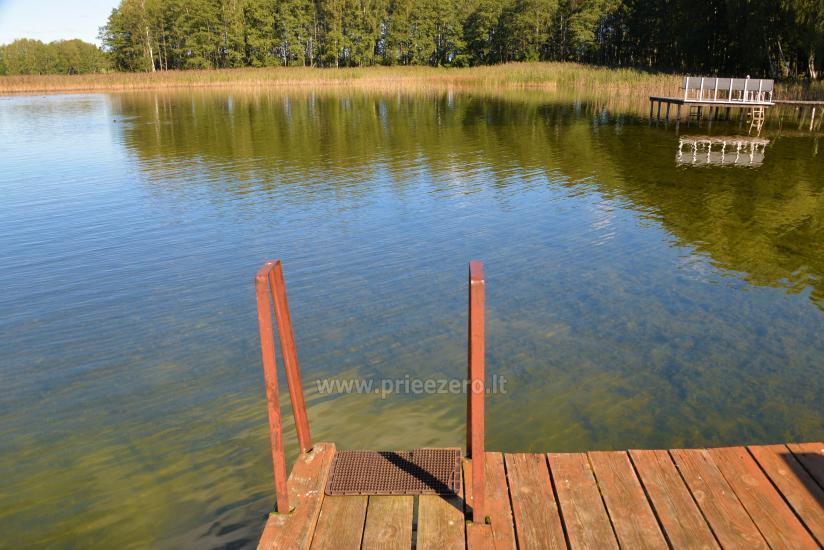 Viensēta pie ezera Malkestas un atpūtas mājas  Srovės krantas - 6