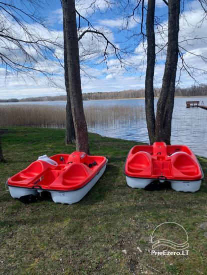 Viensēta pie ezera Malkestas un atpūtas mājas  Srovenos krantas - 47