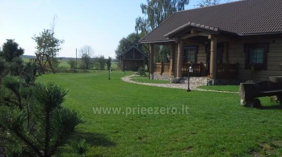 Lauku tūrisma sēta Liepija: brivdienu majinas, zāle, pirts, baseins - 2