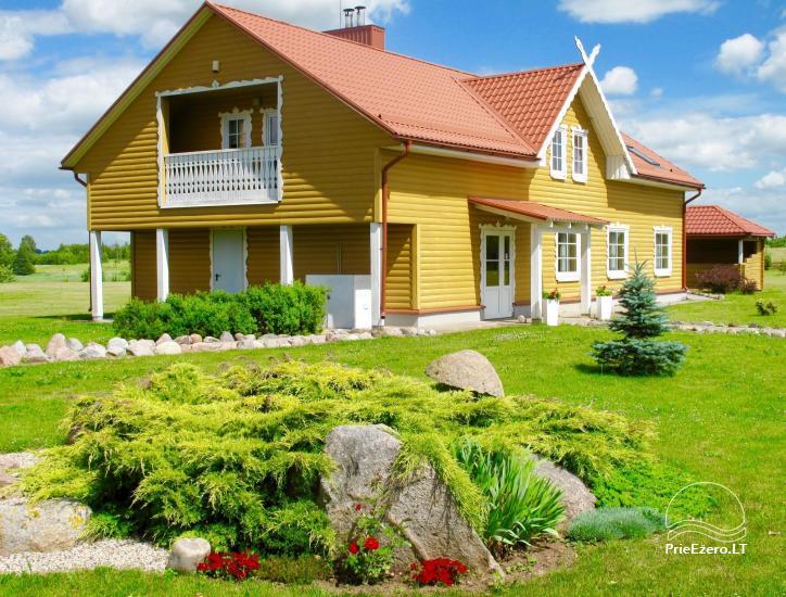 Lauku māja rajona Rokiskis pie ezera Sartai Sartakampis - 1