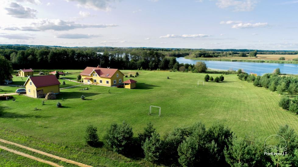 Lauku māja rajona Rokiskis pie ezera Sartai Sartakampis - 2