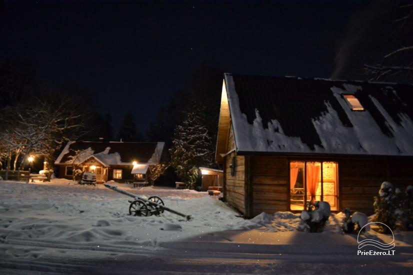 Lauku tūrisma sēta Krakila - pirts, banketu zāle, naktsmītne - 24