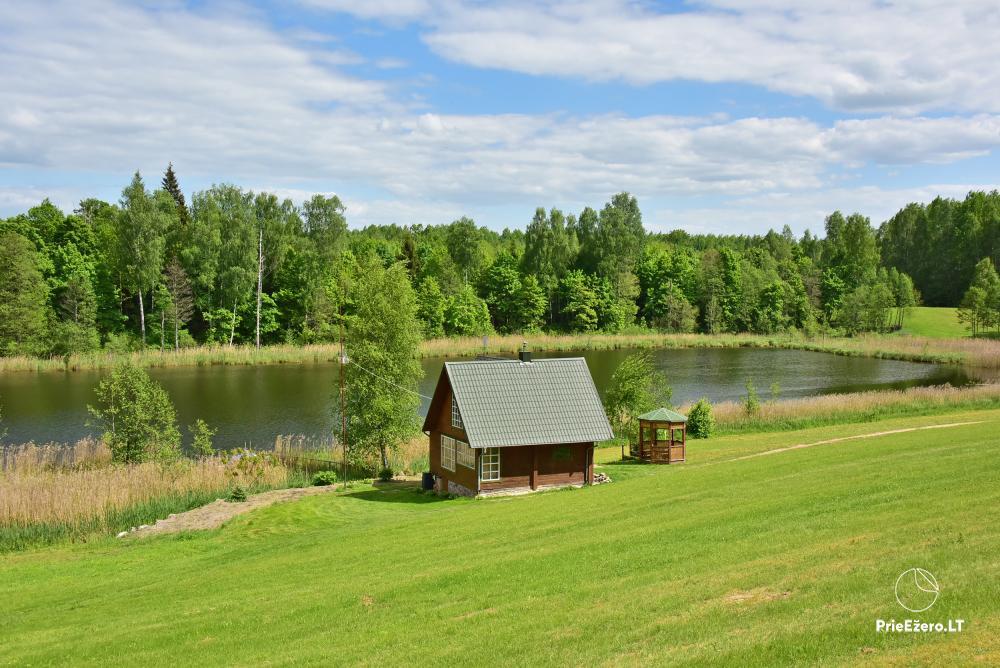 Lauku māja pie ezera Delinis Pagriaumėlė - 1