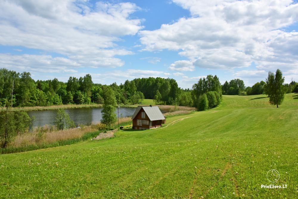 Lauku māja pie ezera Delinis Pagriaumėlė - 2