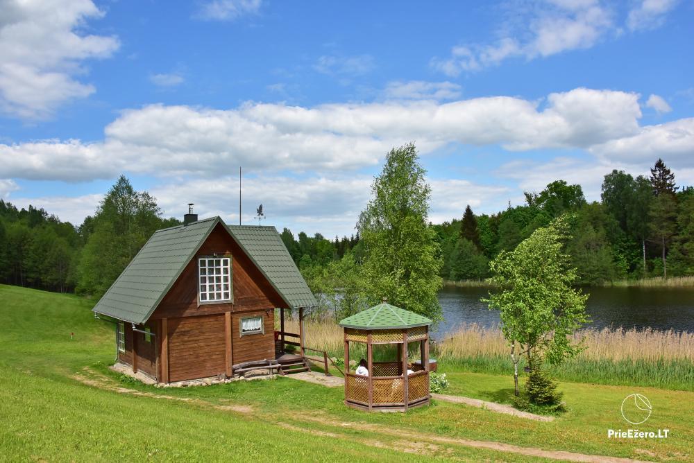 Lauku māja pie ezera Delinis Pagriaumėlė - 14