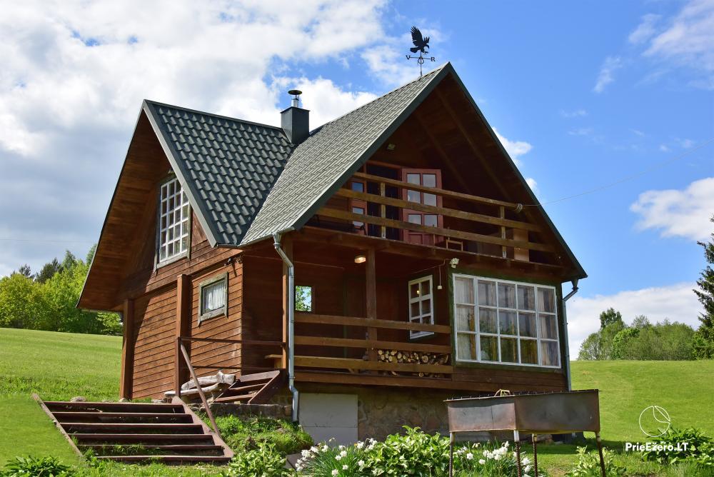 Lauku māja pie ezera Delinis Pagriaumėlė - 13