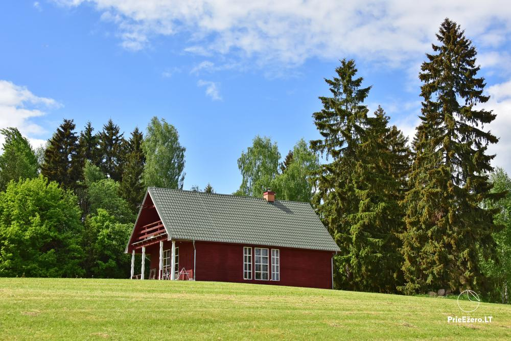 Lauku māja pie ezera Delinis Pagriaumėlė - 31