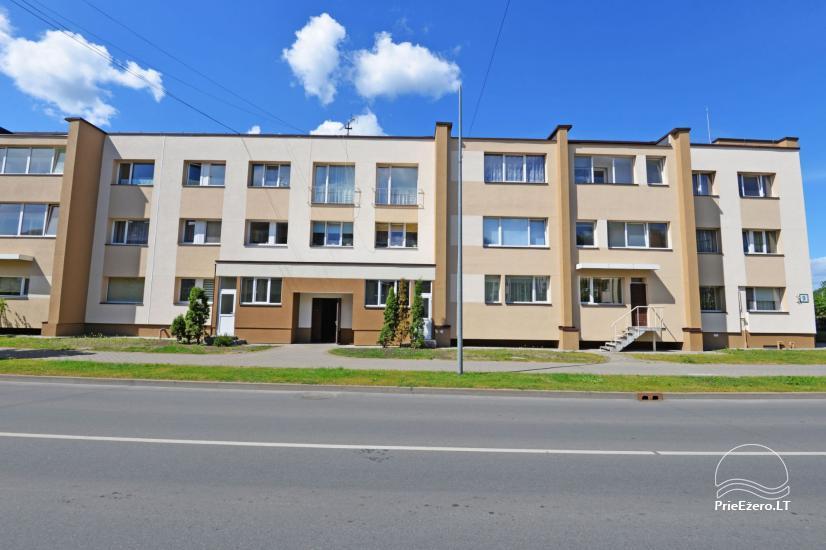 Viena istaba dzīvokli centrā Druskininkos - 11