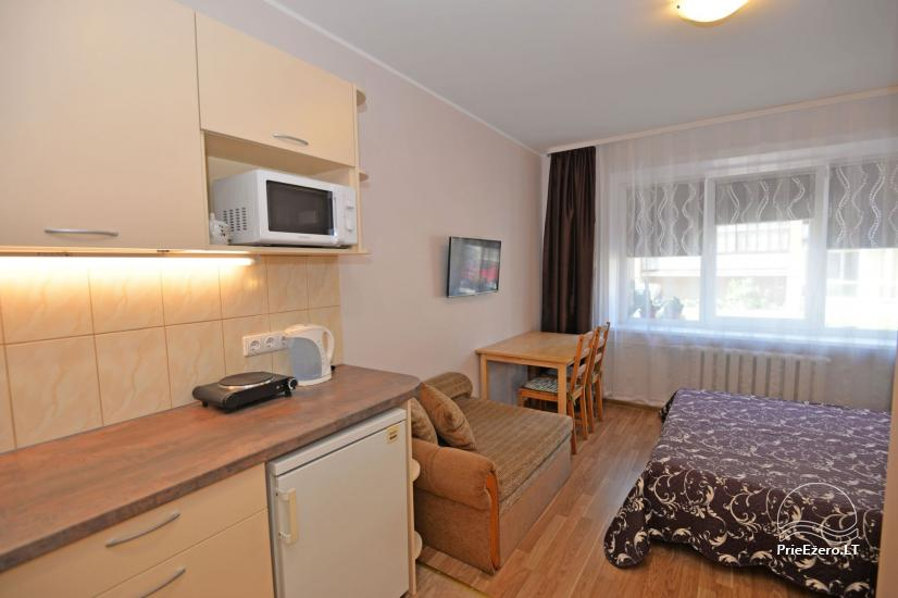 Viena istaba dzīvokli centrā Druskininkos - 7