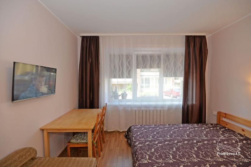 Viena istaba dzīvokli centrā Druskininkos - 8