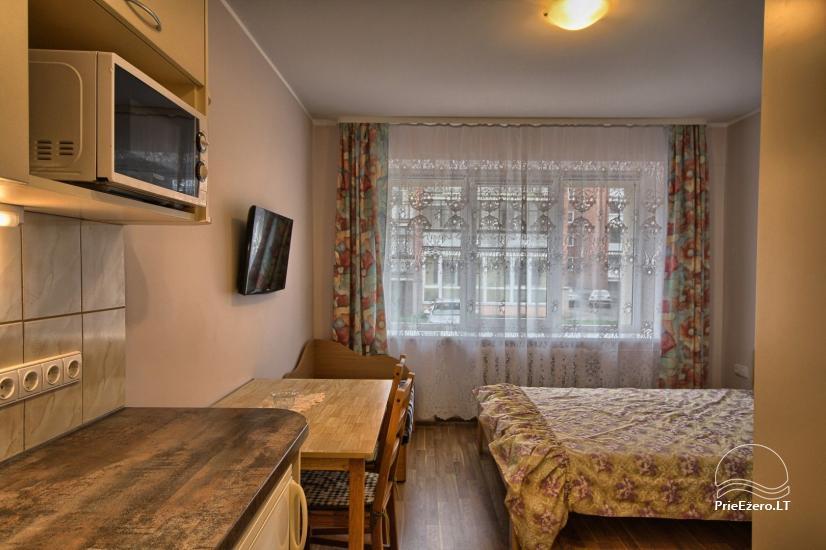 Viena istaba dzīvokli centrā Druskininkos - 3