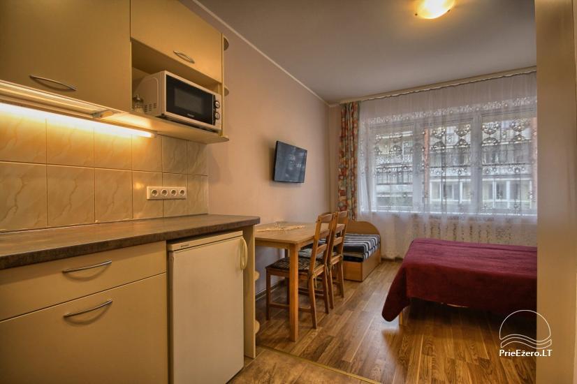 Viena istaba dzīvokli centrā Druskininkos - 2