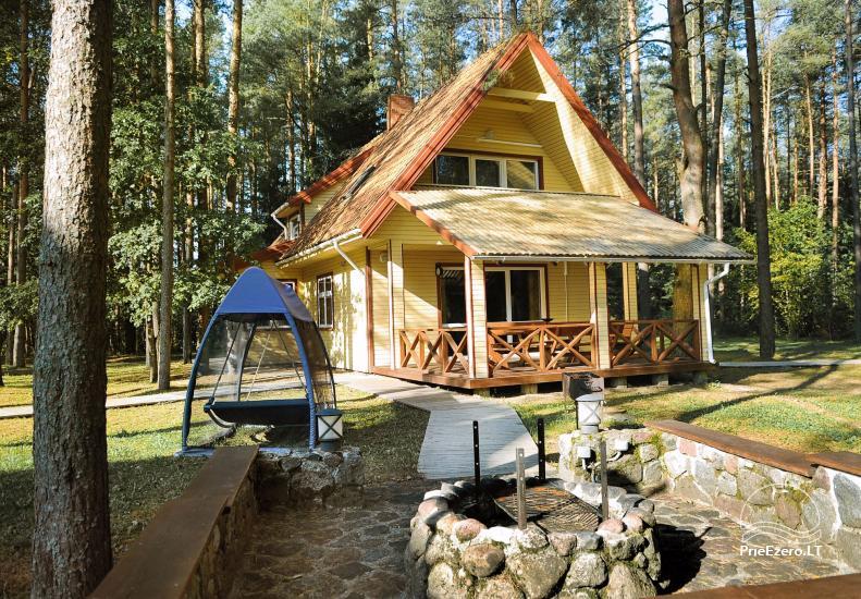 Villa Pluņģes rajonā pie ezera Plateliai Plokštinė - 20