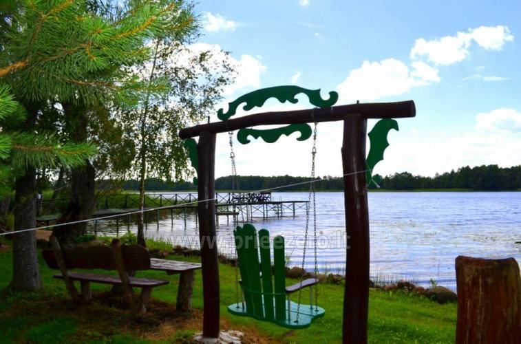 Sēta ar pirts pie ezera pasākumiem, kāzām un atpūtai - 13