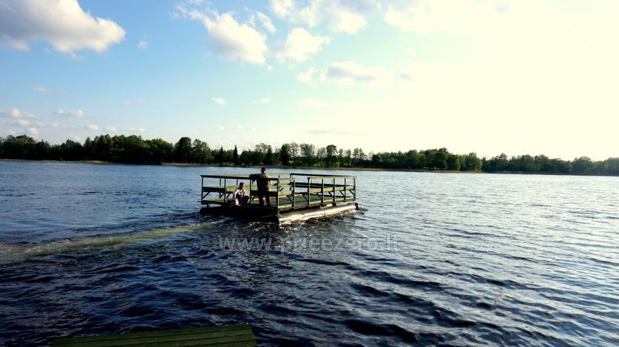 Sēta ar pirts pie ezera pasākumiem, kāzām un atpūtai - 10
