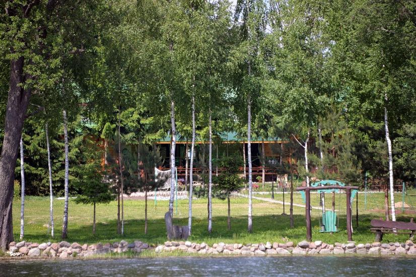 Sēta ar pirts pie ezera pasākumiem, kāzām un atpūtai - 15