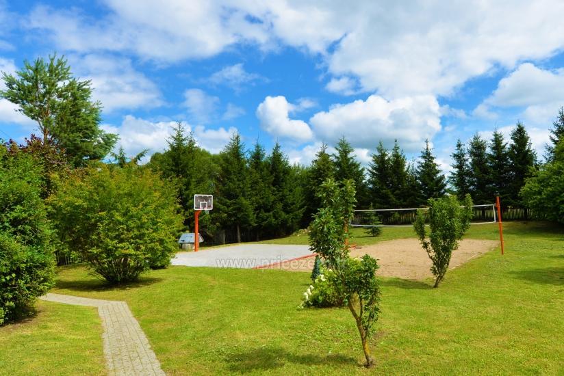 Lauku tūrisms netālu Vištītis. Pirts, banketu zāle, basketbols, kempings - 6