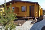 Jaunie brīvdienu mājas Vasare 60 metrus uz upes Sventoji, 700 metru līdz jūrai