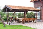 Māja uz ezera krastu: istabas, banketu zāle 30 personām, pirts, kajaki - 4