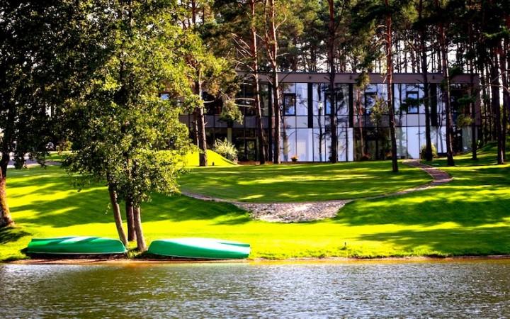 Lauku tūrisms komplekss Trakai reģionā uz krasta ezera Margio Krantas - 2