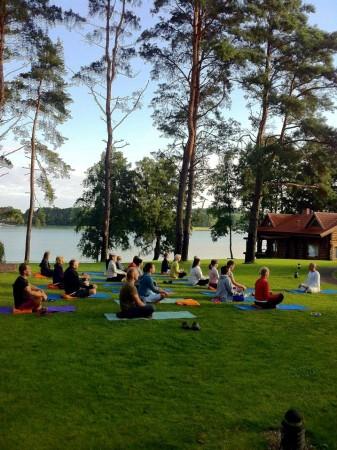 Lauku tūrisms komplekss Trakai reģionā uz krasta ezera Margio Krantas - 10