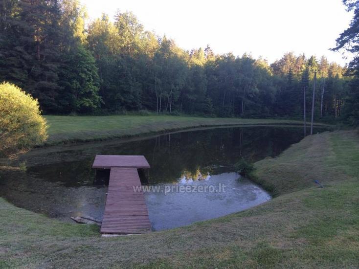 Viensēta in Plunges zonā pie ezera Plateliai - 9