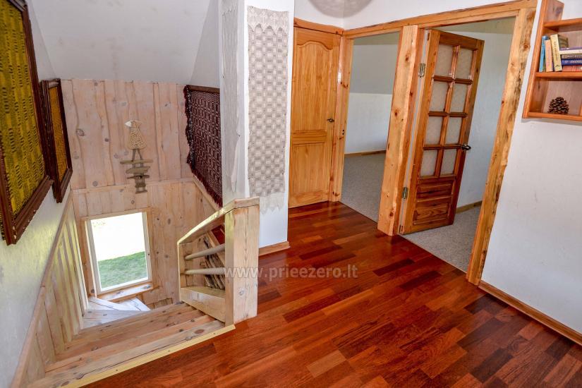 Lieliska māja Latezeris atpūtai pie ezera 6 km uz slavenā kūrorta Druskininkos - 15