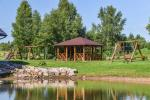 Viensēta Irvita in Plunges jomā ar banketu zāli, pirti, guļamistabām, mājiņām - 2