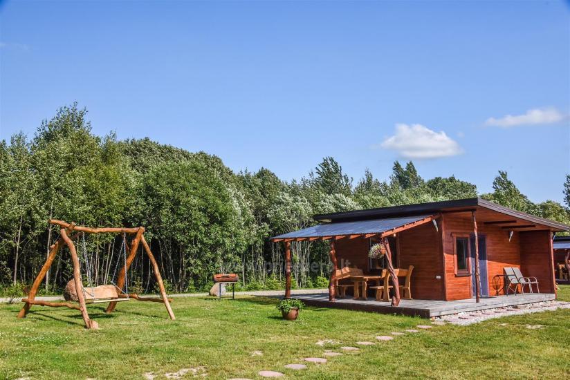 Viensēta Irvita in Plunges jomā ar banketu zāli, pirti, guļamistabām, mājiņām - 57